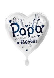 """XXL Heliumballon """" Papa du bist der Beste"""""""