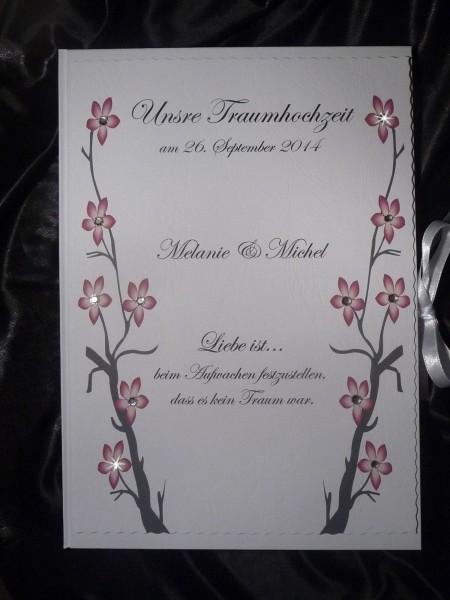"Gästebuch Hardcover DIN A4 ""Liebe"""