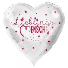 """Heliumballon """"Lieblingsmensch"""""""