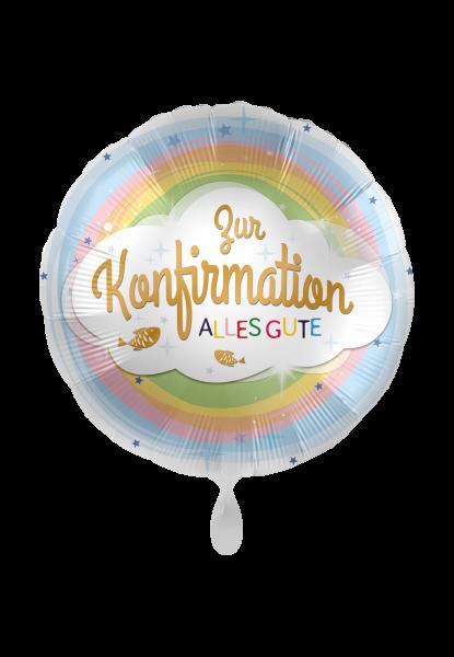"Heliumballon ""Zur Konfirmation alles Gute"""