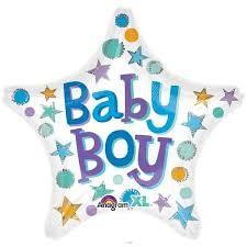 Heliumballon Baby Boy