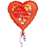"Heliumballon "" Beste Mama"""