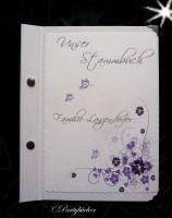 Stammbuch mit Buchecken und Ihrer Geschichte