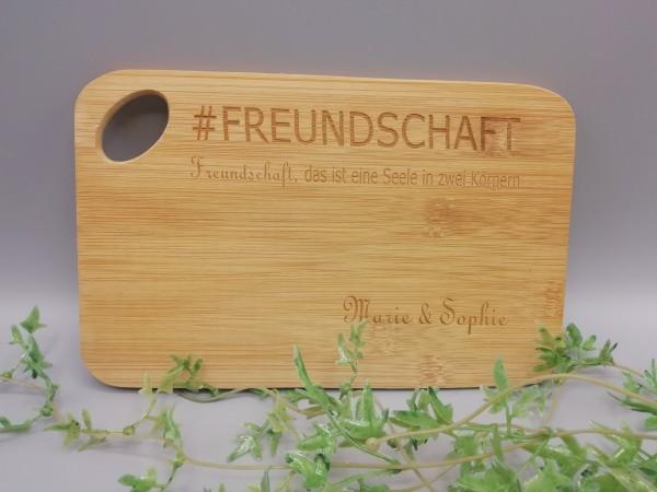 """Frühstücksbrett """"Freundschaft"""""""