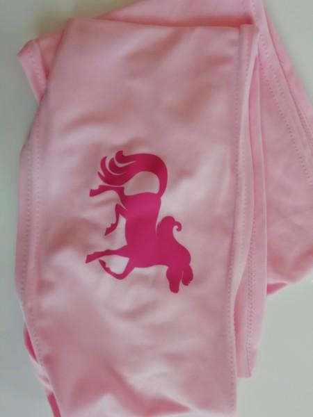 Stoff für Maske - ROSA-Pferd