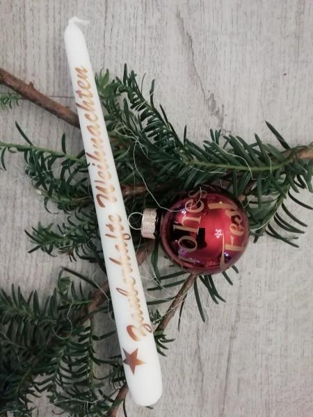 """Geschenkset """" Rottöne"""" inkl. graviertem Holzhänger und Lieferung"""