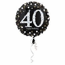 """Heliumballon Happy Birthday 40"""""""
