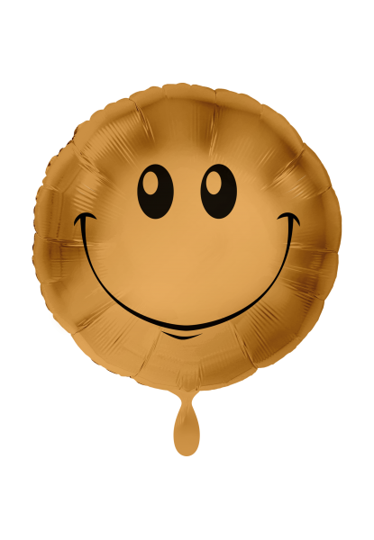 "Heliumballon ""Smiley gold"""