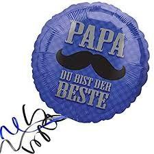 """Heliumballon """" Papa du bist der Beste"""""""