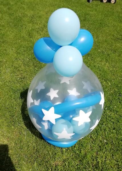 "Verpackungsballon "" Sterne"" - inkl. Lieferung"