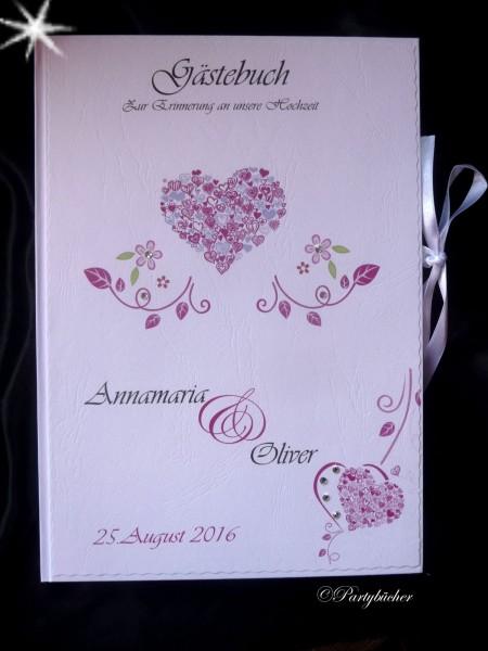 Gästebuch Hochzeit, Hochzeitsgästebuch
