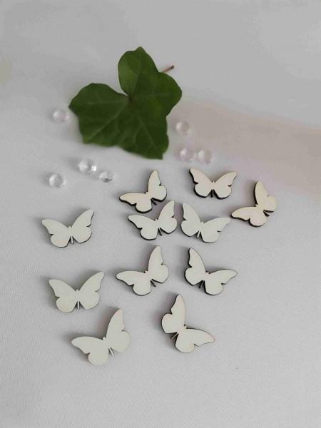 Schmetterlinge 3 cm (Verpackungseinheit 10 Stck.)
