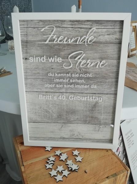 Geschenk oder Gästebuch zur Erinnerung an Freunde-Copy