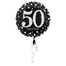 """Heliumballon Happy Birthday 50"""""""