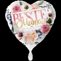 """Heliumballon """"Beste Mama"""" , mit Karte und gratis Lieferung"""